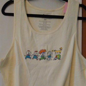 Nickelodeon Rugrats Official Tank Top 2X